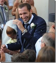 Giorgio Chiellini Carolina Bonistalli wedding photos