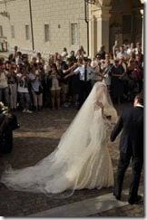 Giorgio Chiellini Carolina Bonistalli wedding picture