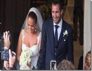 Giorgio Chiellini Carolina Bonistalli wedding