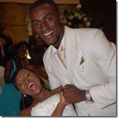 Jackson Martinez Tatiana Caicedo wedding pic