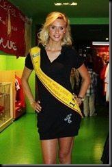 Lara Binet Miss Belgium pic