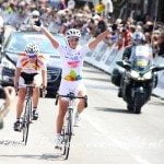 french Cyclist Marion Rousse and her soon-to-be- husband fellow cyclist Tony Gallopin are the  golden couple in their discipline #marionrousse #tourdefreance @fabwags #tonygallopin