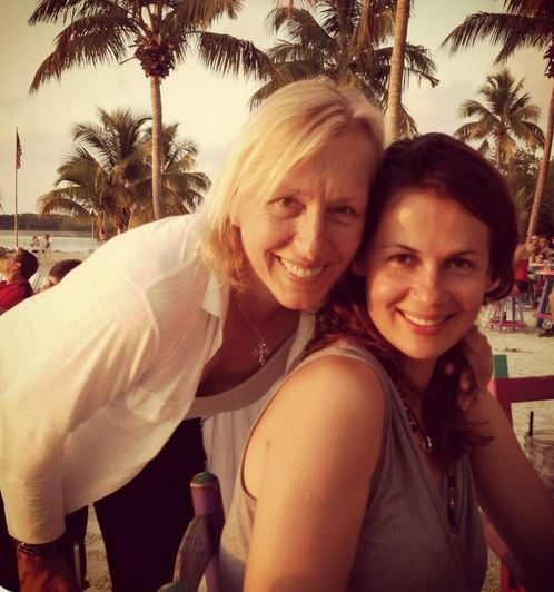 Julia Lemigova – Tennis Legend Martina Navratilova's Girlfriend