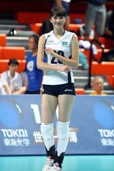 Japan Volleyball Player Aki Maruyama - Japanese Sports Girl