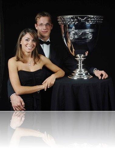 Sebastien Bourdais wife Claire Bourdais