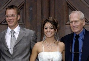 Sebastien Bourdais wife Claire Ragot wedding