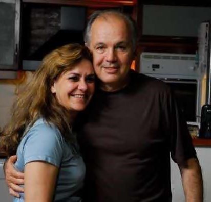 Alejandro Sabella with cool, beautiful, cute, Wife Silvana Rossi