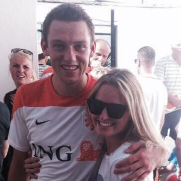 Stefan de Vrij is the young player with the Netherlands National Team and a defender player for Eredivisie Club. de Vrij has been dating his lovely girlfriend Marloes Buitelaar for a couple of years. #netherlandswags #stefandevrij #marloesbuitelaar @fabwags