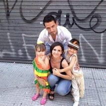 Veronica Brunati Jorge Topo Lopez wife picture