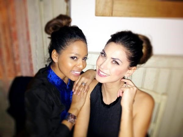 Photo of Melissa Satta & her friend  Winnonah