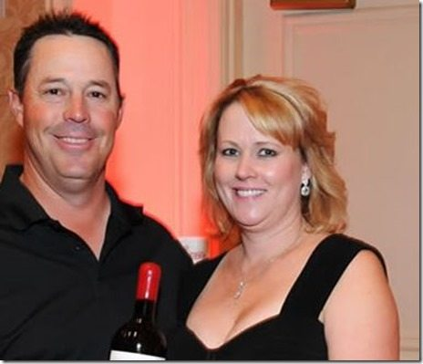 Greg Maddux with friendly, Wife Kathy Maddux