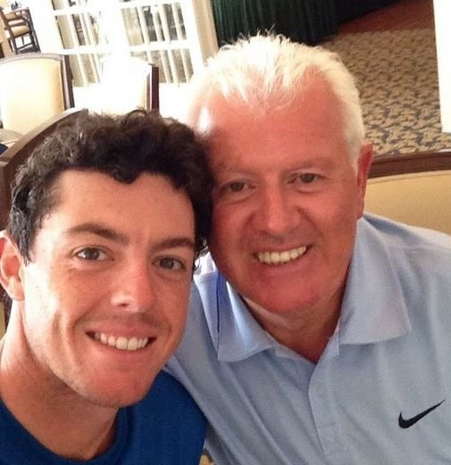 Gerry McIlroy- Rory McIlroy's Father