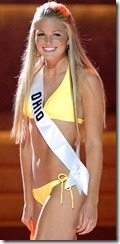 Allie Laforce miss teen ohio bikini