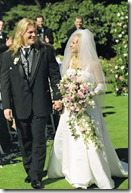 Chris Jericho wife Jessica Lee Lockhart wedding photo