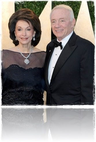 Dallas Cowboys Jerry Jones wife Gene jones