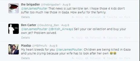 Ian Poulter tweet response pic