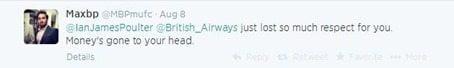 Ian Poulter tweet response