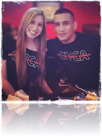 Joe Soto girlfriend Rocio Diaz mma