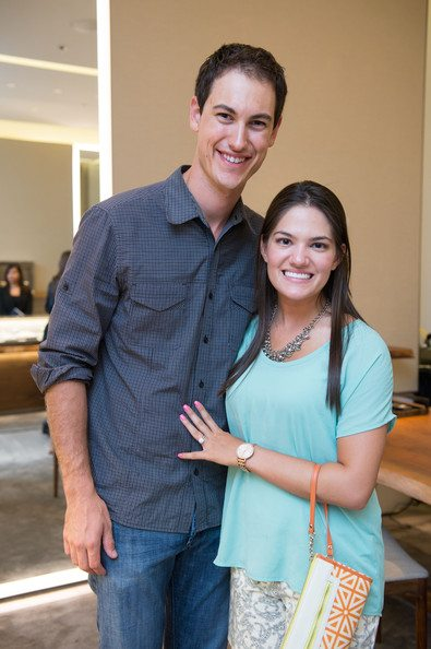 Joey Logano with beautiful, cute, Wife Brittany Baca