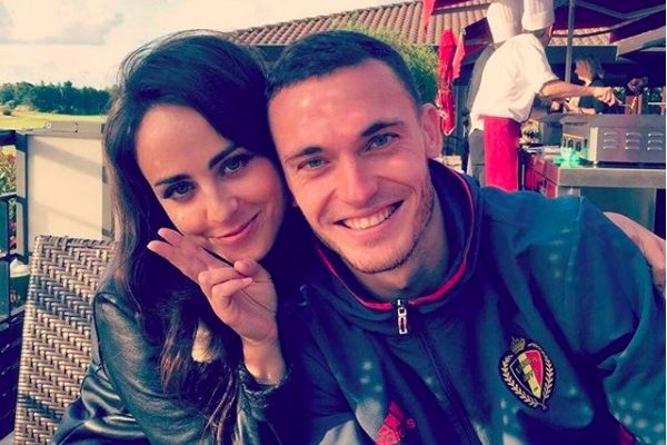 Thomas Vermaelen's wife Polly Parsons