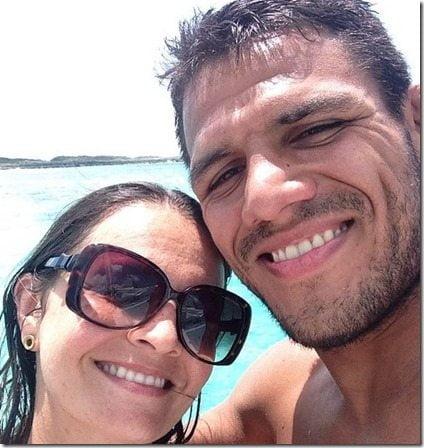 Meet Rafael dos Anjos' wife Cristiane dos Anjos