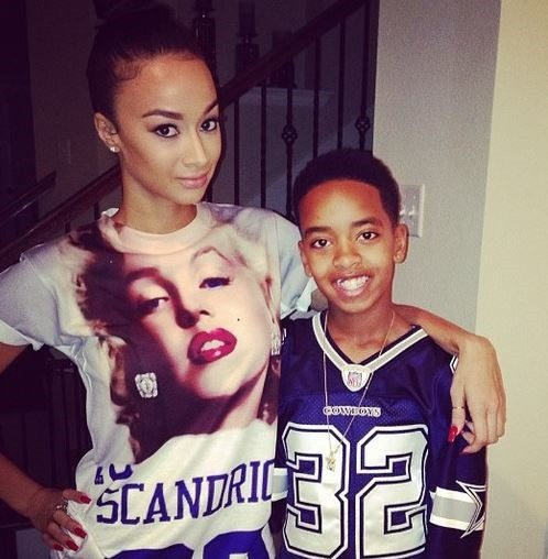 Chris Brown Kids 2014