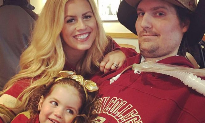 Ice Bucket Challenge Pete Frates' Wife Julie Frates