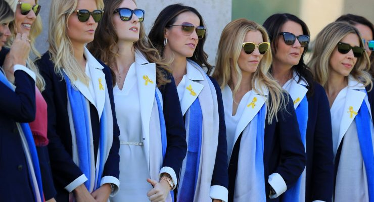 Sexiest UK Ryder Cup Wags