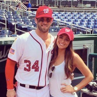 Kayla Varner MLB Bryce Harper's hot girlfriend!