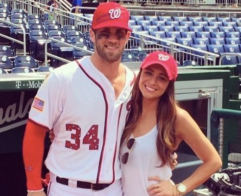 Kayla Varner MLB Bryce Harper's hot girlfriend!