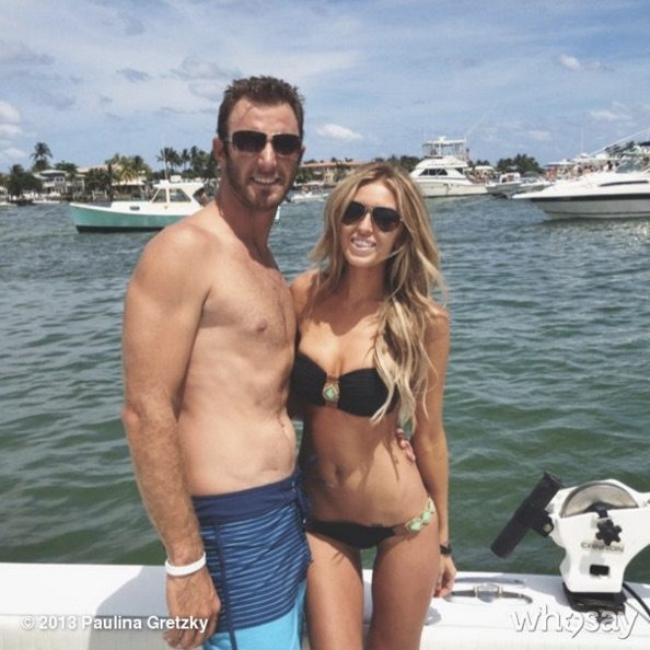 how did dustin johnson and paulina gretzky meet