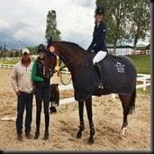Erin Stiegemeier Walker Horse jumper photo