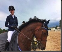 Erin Stiegemeier Walker Horse jumper pics