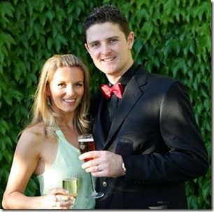 Kate Phililips Rose Justin Rose wife pic
