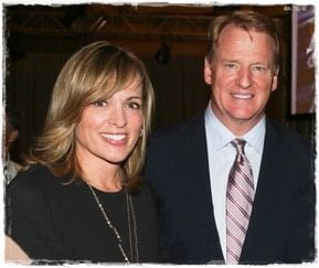 Jane Skinner: NFL Commissioner Roger Goodell's wife