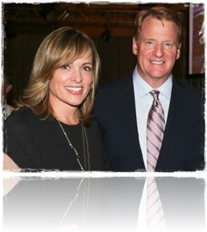 Meet jane skinner this fab nfl wag is the wife of commissioner roger