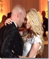 Rachel Bradshaw Bironas Ron Bironas wedding pic