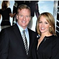 Roger Goodell Jane Skinner Photo 200x200