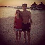 Camille Marchetti Jules Bianchi girlfriend-photo