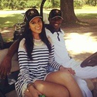 Emmanuel Sanders Girlfriend Gabriell Waheed Photo 200x200