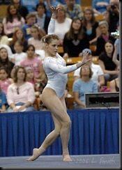 Jalynne Dantzscher Crawford gymnast pic