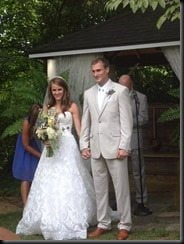 Kirk Cousins Julie Hampton wedding photos