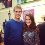 Kirk Cousins wife Julie Hampton Cousins-pictures