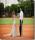 Michael Morse wife Jessica Etably Morse wedding pics
