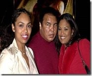 Muhammad Ali daugthers Hana and Laila