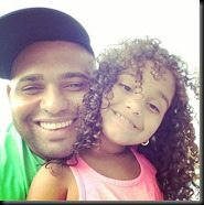Pablo sandoval daughter