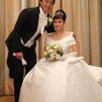 Sachi Ohtake Aoki Nori Aoki wedding