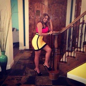 Solanyi Genao Nelson Cruz girlfriend wife-photo