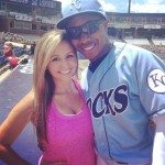 Terrance Gore Girlfriend Britney Helms picture