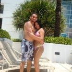 Yohanna Infante Omar Infante  wife picture